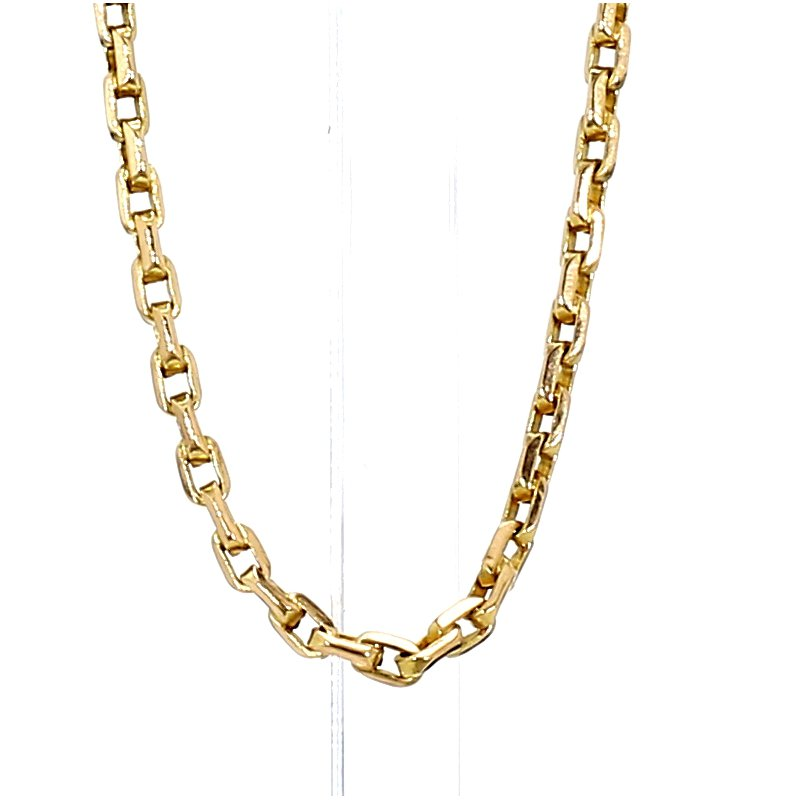 """14KY Gold Solid Cable Chain 17"""" x 1.8MM"""