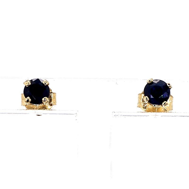 .40ct Blue Sapphire Stud Earrings