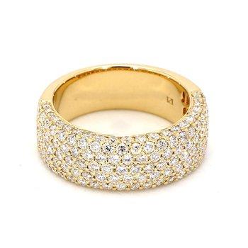 2ct Diamond Pavé Ring