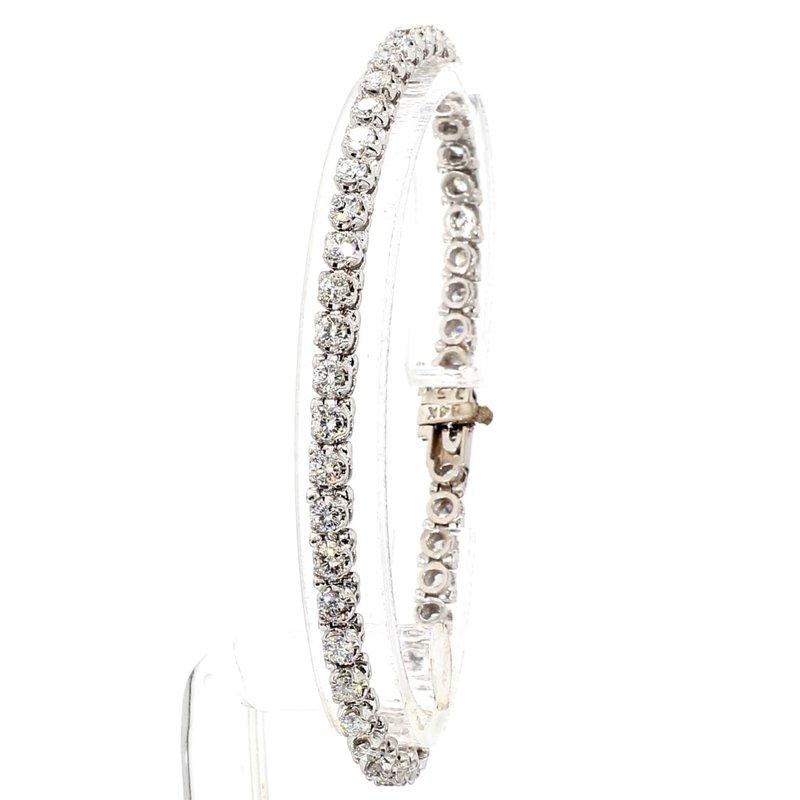 "3 1/4  Carat Diamond Tennis Bracelet 7"" x 4.09mm"