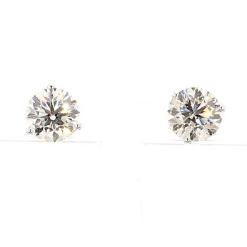 2.00 Carat Diamond Stud Earrings