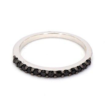 1/3ct Black Diamond Ring