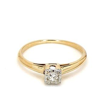 1/10ct Diamond Ring