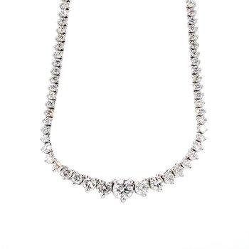 5 Carat Diamond Riviera Necklace