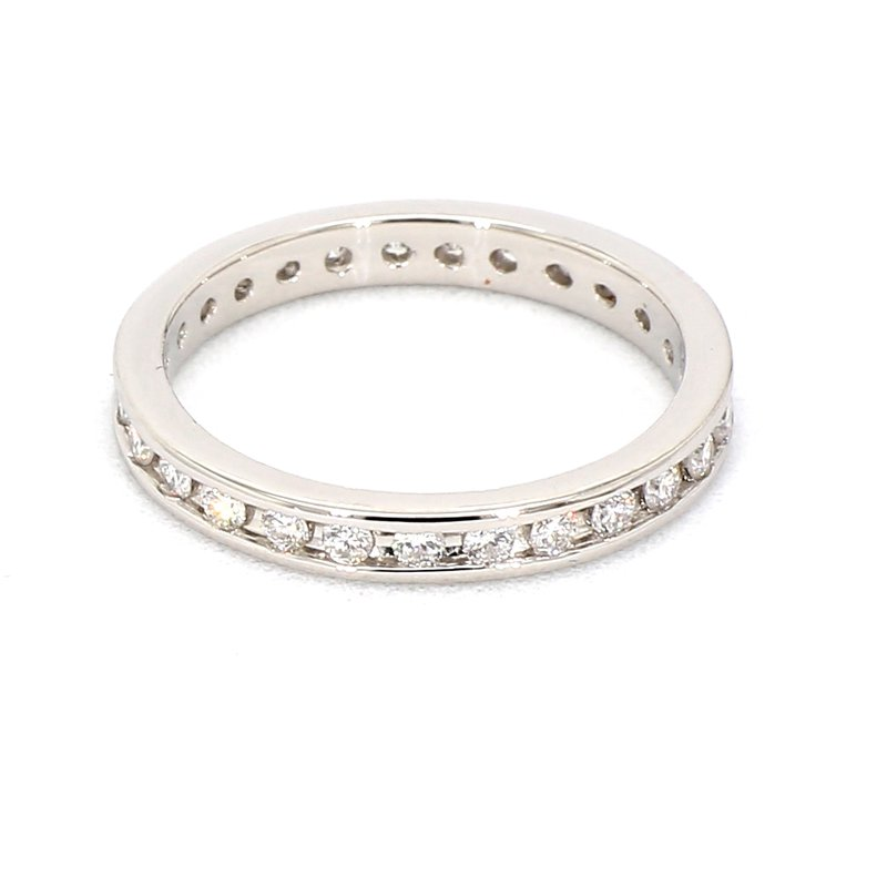 1/2ct Diamond Eternity Channel Set Ring