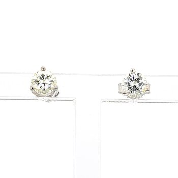 3/4ct. Diamond Stud Earrings
