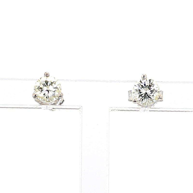 3/4ct. Diamond Stud Earrings