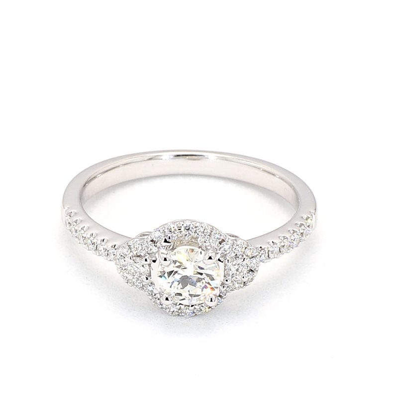 .64 Carat Diamond Halo Engagement Ring