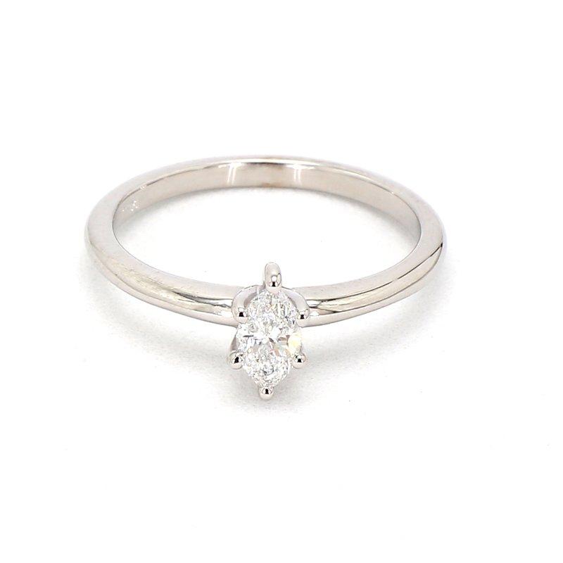 1/3ct Marquise Petite Diamond  Engagement Ring
