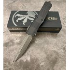 Microtech - Combat Troodon D/E Damascus Steel Blade Knife