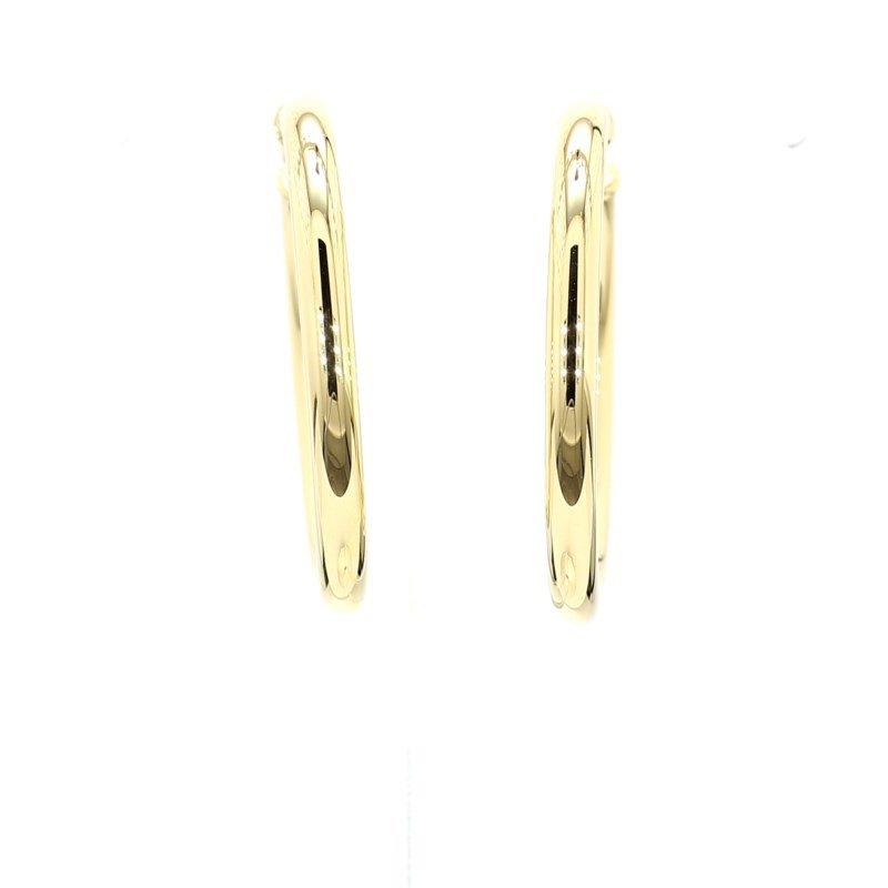 14 Karat Yellow Gold Hoop Earrings