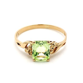 1 1/2ct Synthetic Spirel Ring