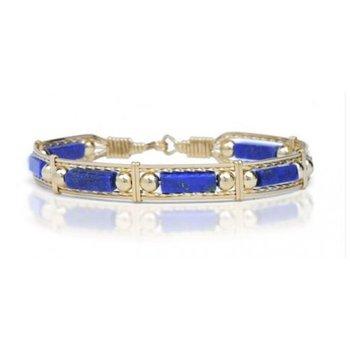 Lapis  Bead Bracelet