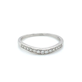 Ladies .15ctw Diamond Wedding Band