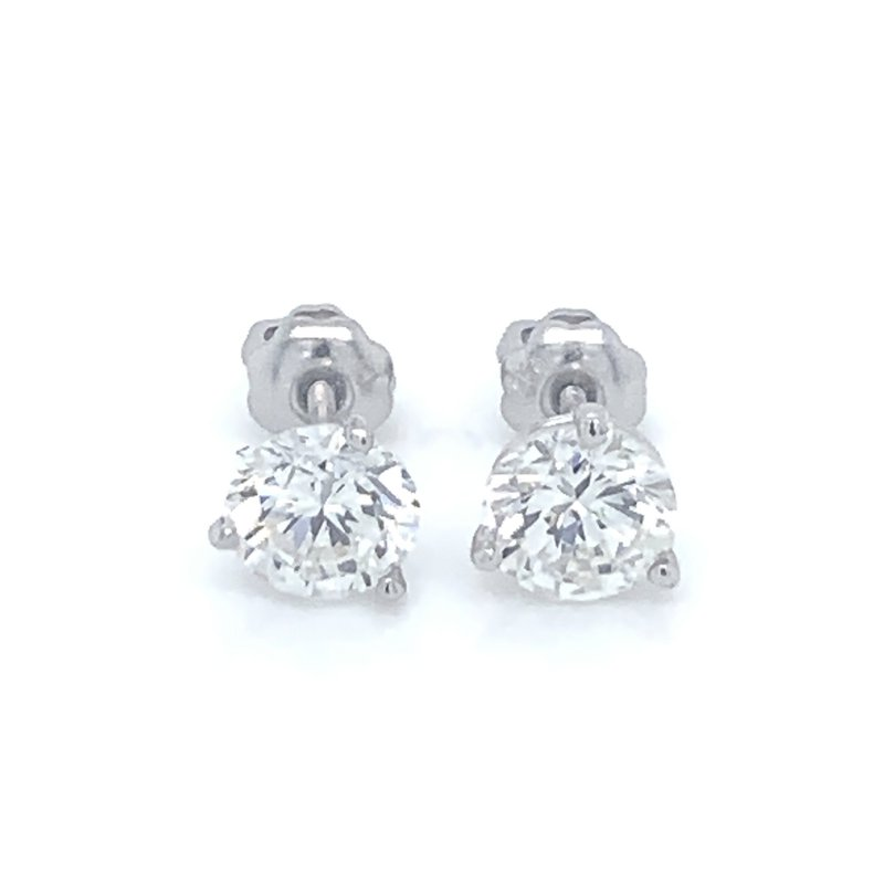 1.47ctw Diamond Stud Earrings