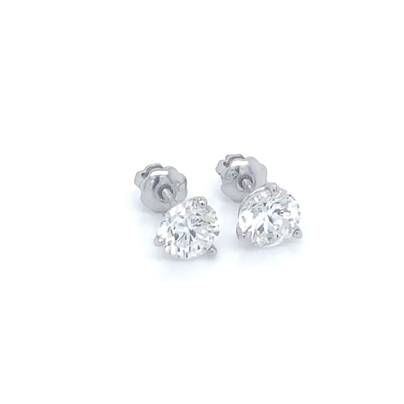 1.47ctw Diamond Stud Earrings