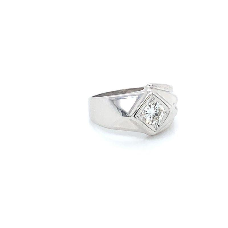 Men's Diamond Solitaire Ring