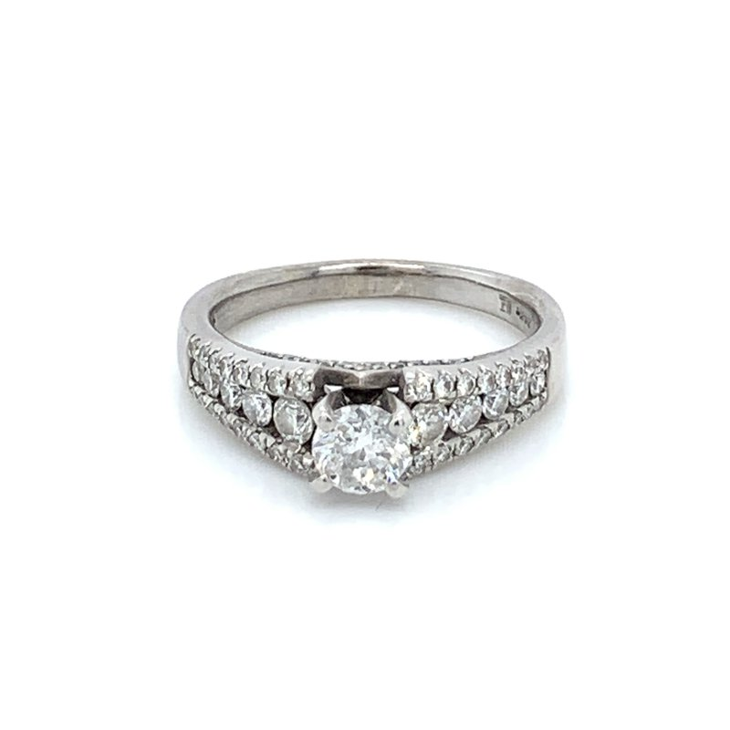 Ladies 1.00ctw Diamond Engagement Ring