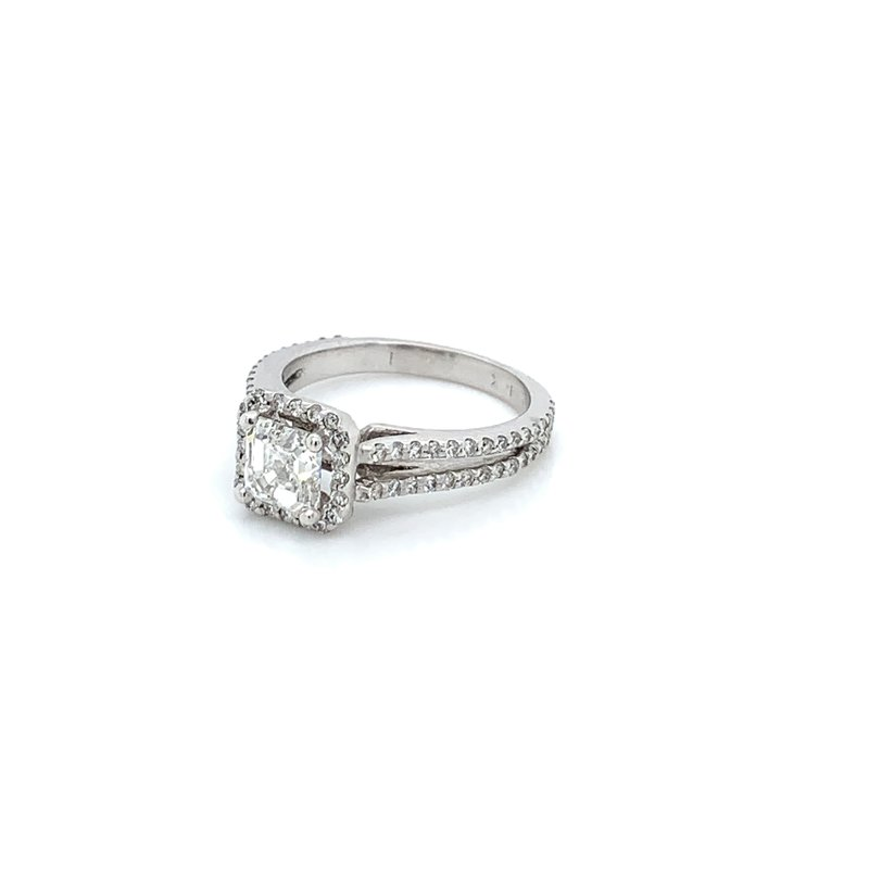 1.80ctw Split Shank Engagement Ring