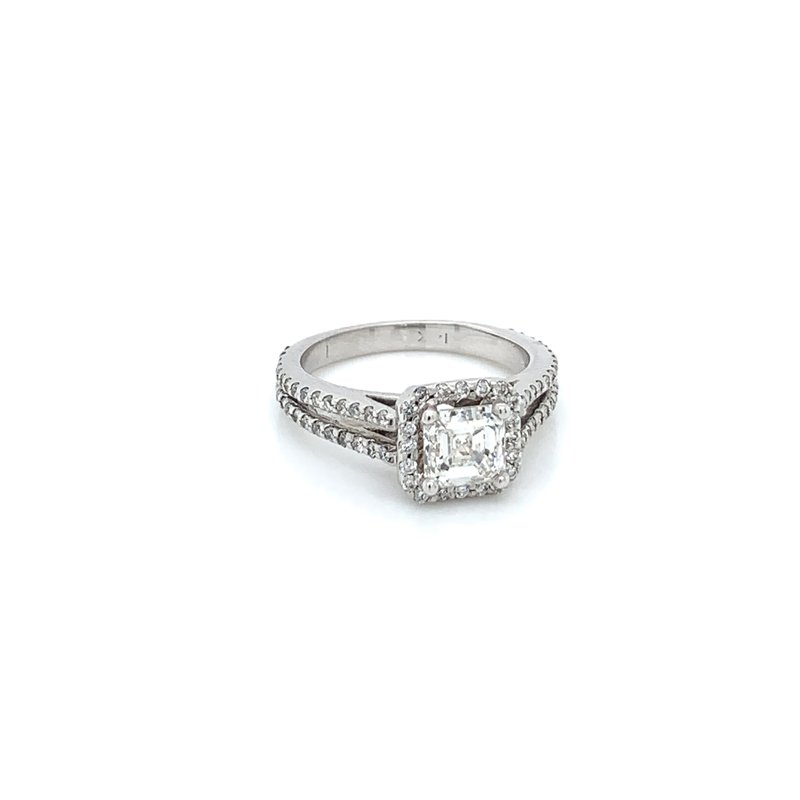 1.80ctw Split Shank Engagement Ring