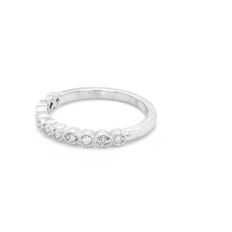 .25ctw Stackable Diamond Wedding Band