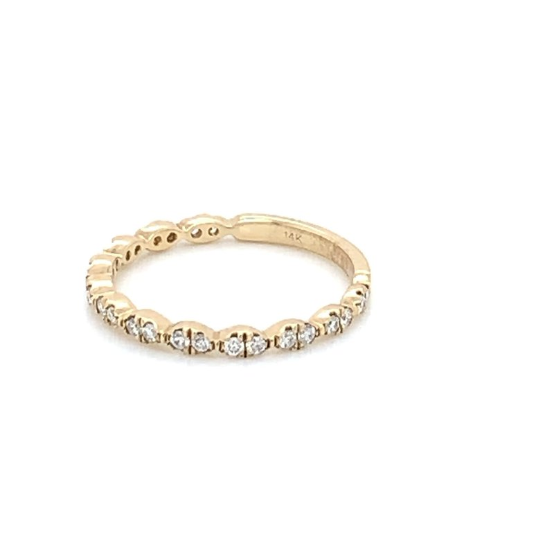 .25ctw Stackable Diamond Wedding Band