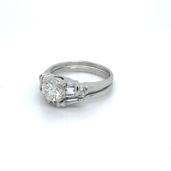 1.50ctw Bridal Set w/ 1.04ct RBC