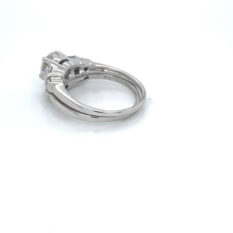 1.50ctw Bridal Set w/ 1.04ct RBC