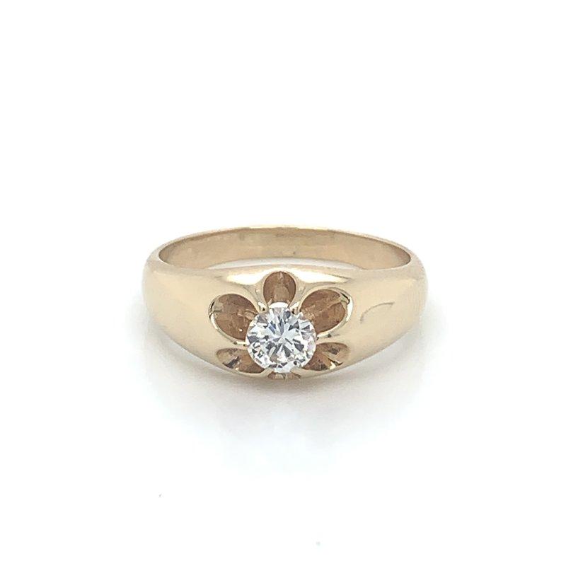 Men's .50ct Diamond Solitaire Ring
