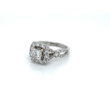 2.25ctw Halo Engagement Ring