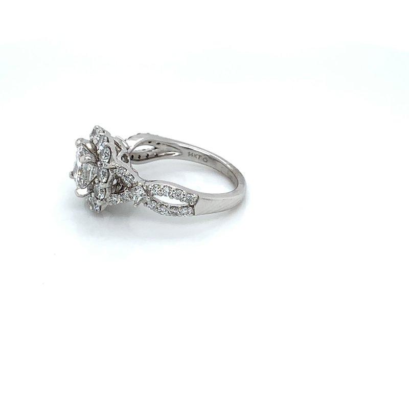 2.25ctw Halo Engagement Ring