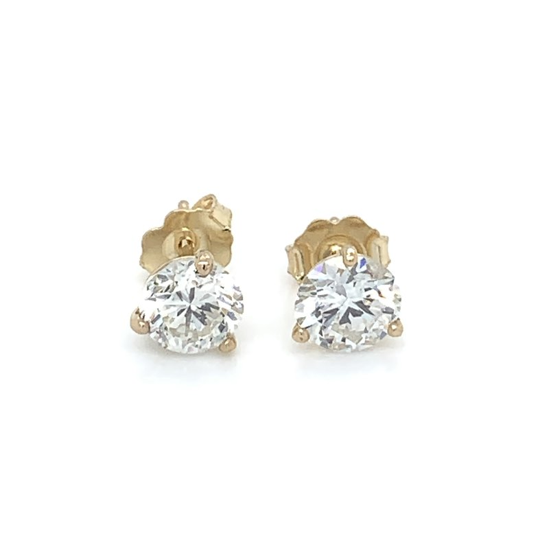 1.91ctw Diamond Stud Earrings