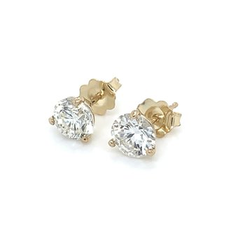 1.91ctw Diamond Stud Earrings