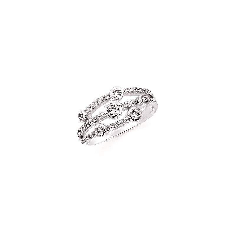 Ostbye Ladies' 14k White Gold Diamond Ring
