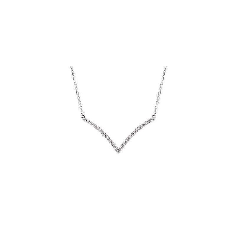 Ostbye Ladies' 14k White Gold Diamond Pendant