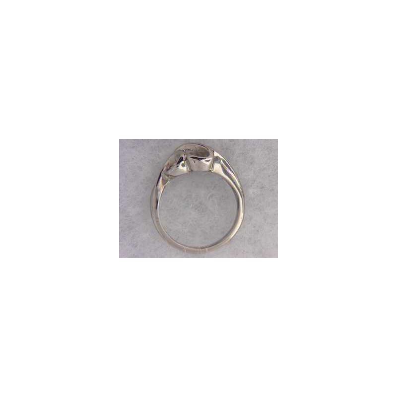 Pugh's Signature 14k White Gold Ring Mounting