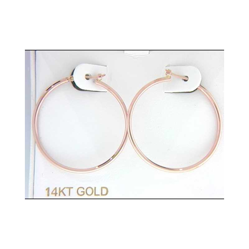 Pugh's Signature 14k Rose Gold Earrings