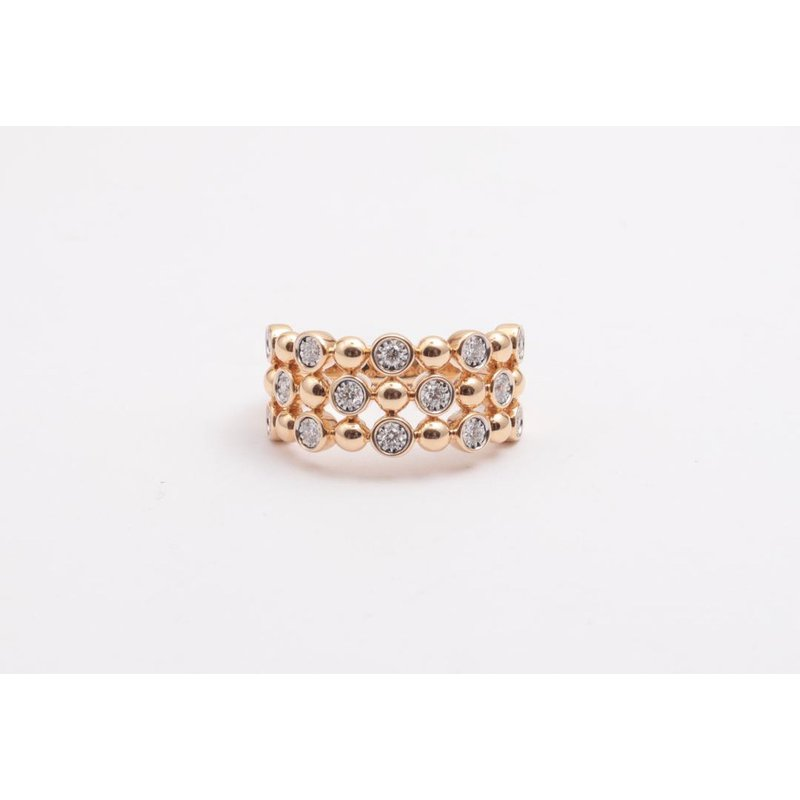 Allison-Kaufman Ladies' 14k Yellow Gold Diamond Ring