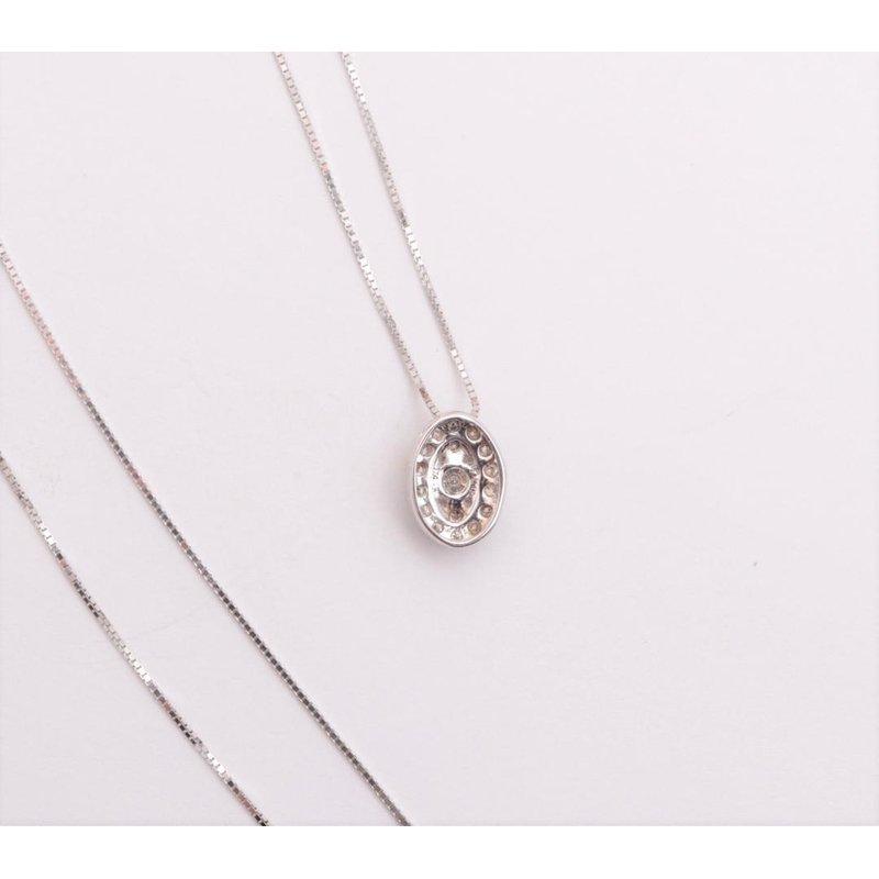 Pugh's Signature Ladies' 14k White Gold Diamond Pendant