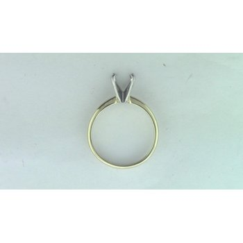 Platinum &14k Yellow Gold Ring