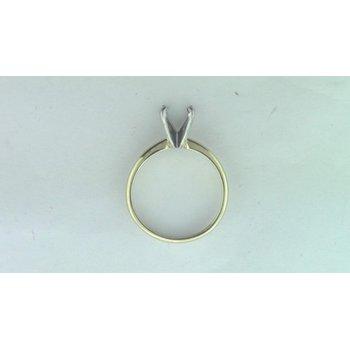 Platinum &14k Yellow Gold Ring