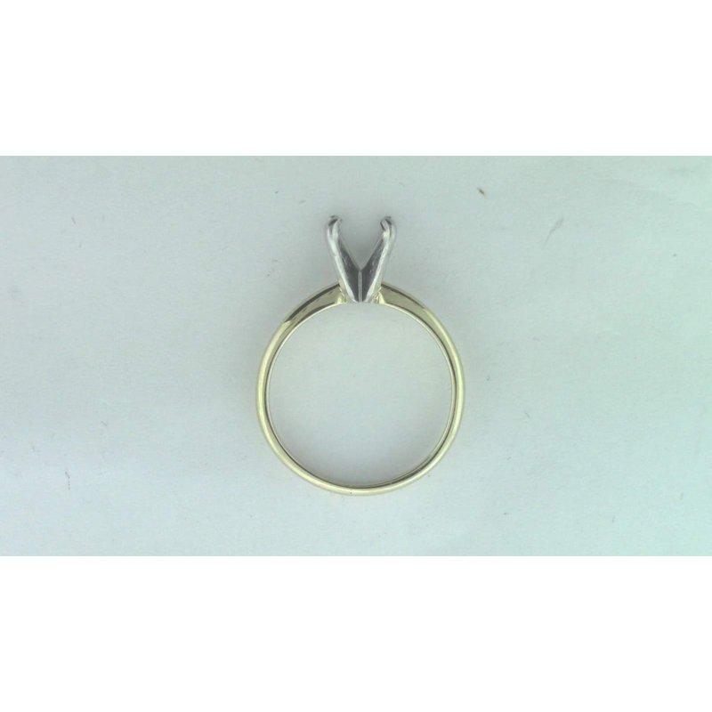Pugh's Signature Platinum &14k Yellow Gold Ring