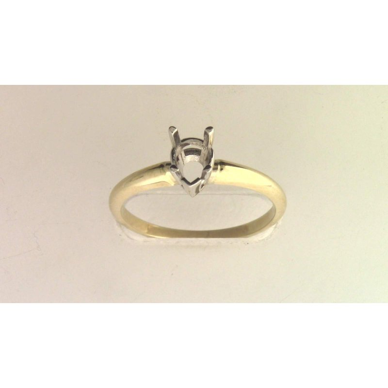 Pugh's Signature 14k White And Yellow Gold Ring