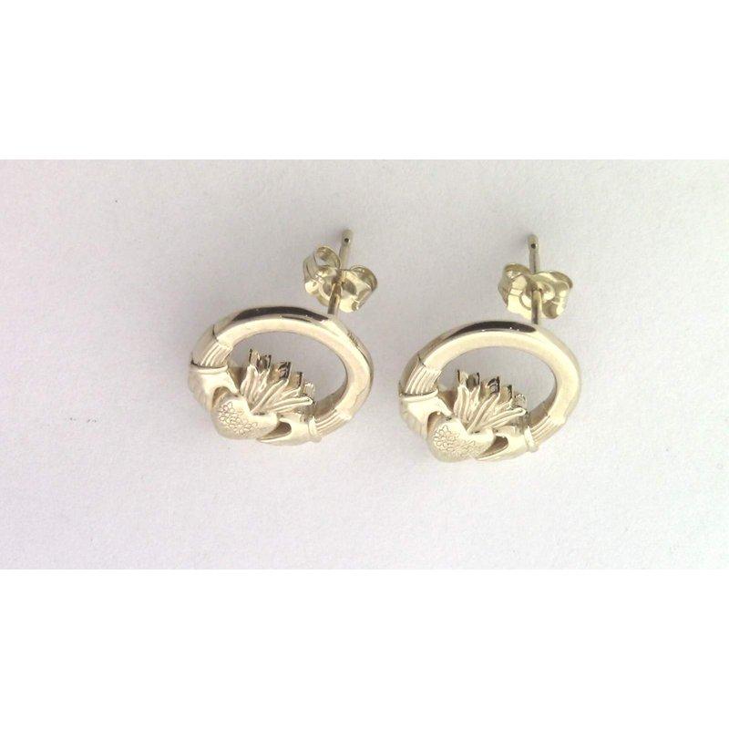 Pugh's Signature 14k Yellow Gold Earrings