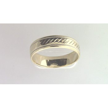 Gentlemans' 14k Yellow Gold Wedding Ring