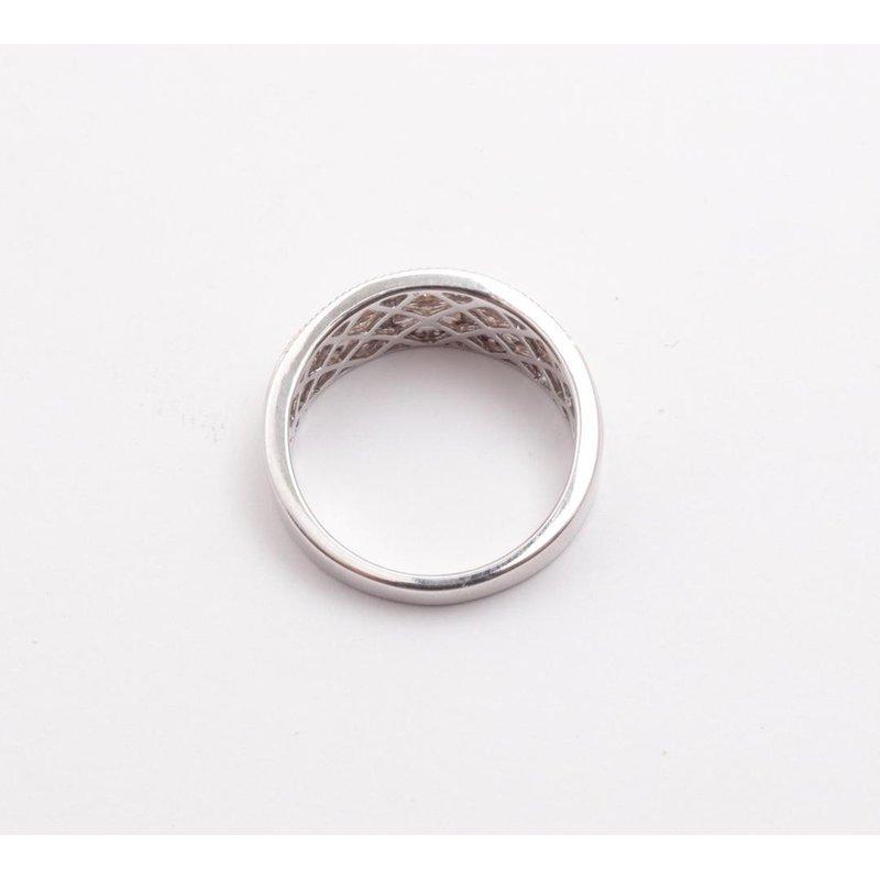 Allison-Kaufman Ladies' 14k White And Yellow Gold Diamond Ring