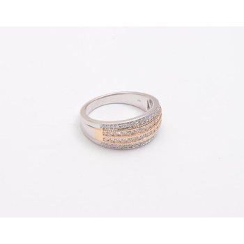 Ladies' 14k White And Yellow Gold Diamond Ring