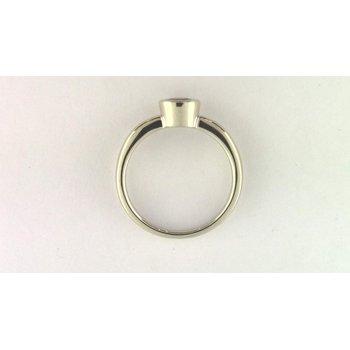 Ladies' 14k White Gold Pink Tourmaline Ring