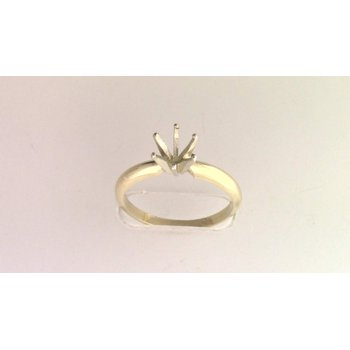 14k White And Yellow Gold Ring