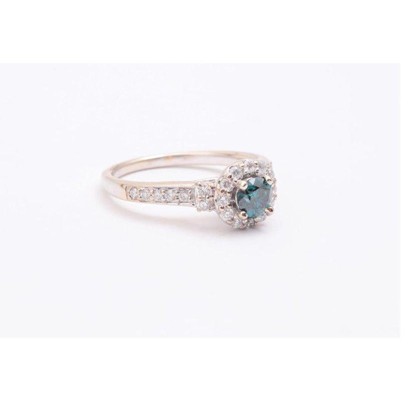Pugh's Signature Ladies' 14k White Gold Diamond Ring